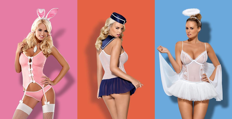 lencería y disfraces eróticos